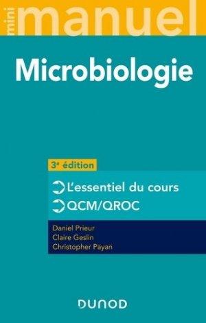 Mini manuel de microbiologie. 3e édition - Dunod - 9782100811700 -
