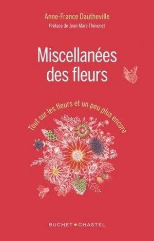 Miscellanées des fleurs - buchet chastel - 9782283033081 -