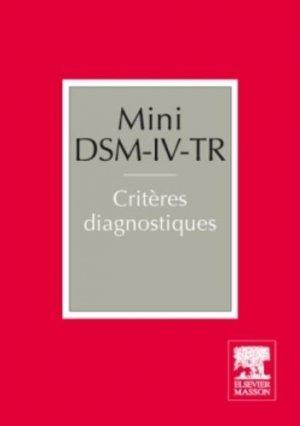 Mini DSM-IV-TR. 2e édition - elsevier / masson - 9782294726941 -