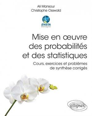Mise en oeuvre des probabilités et des statistiques - ellipses - 9782340032965 -