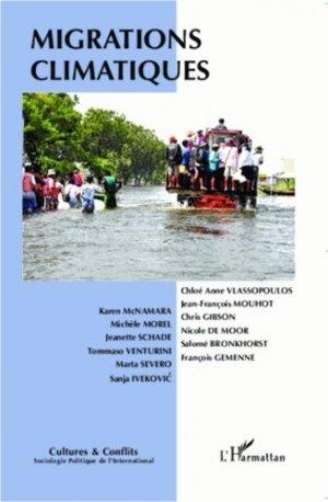 Migrations climatiques - l'harmattan - 9782343005898 -