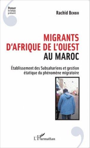 Migrants d'Afrique de l'Ouest au Maroc - l'harmattan - 9782343057354 -