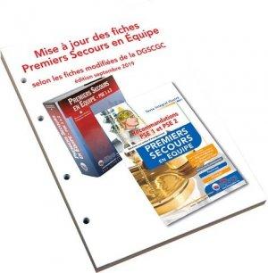 Mise à jour des fiches PSE selon les recommandations de 2019 - Icone graphic - 9782357386006 -