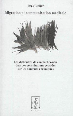 Migration et communication médicale - lambert-lucas - 9782359352085 -