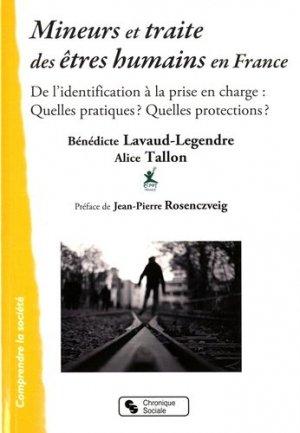 Mineurs et traite des êtres humains en France. De l'identification à la prise en charge : Quelles pratiques ? Quelles protections ? - Chronique Sociale - 9782367171906 -