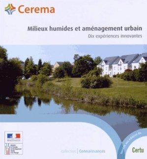 Milieux humides et aménagement urbain - Cerema - 9782371800519 -