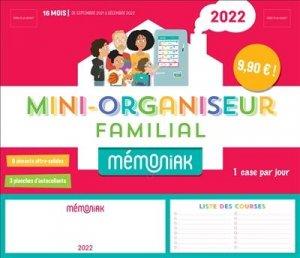 Mini-organiseur familial Le Mémoniak - 365 - 9782377617746 -