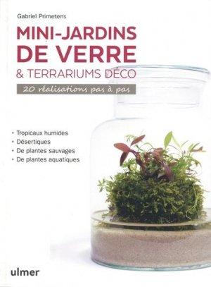 Mini-jardins de verre & terrariums déco - ulmer - 9782379221019 -