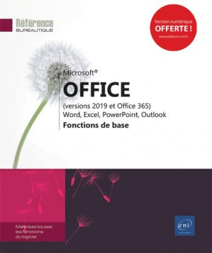 Microsoft  office (versions 2019 et office 365 - eni - 9782409018558