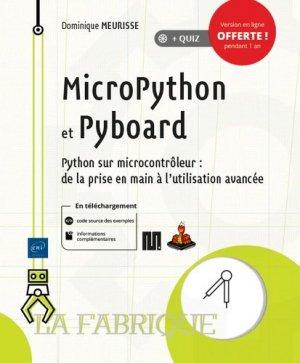 MicroPython et Pyboard - eni - 9782409022906 -