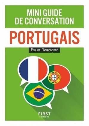 Mini guide de conversation portugais - First - 9782412053751 -