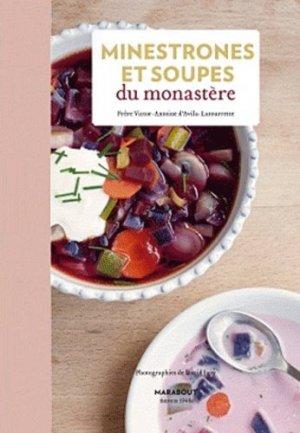 Minestrones et soupes du monastère - Marabout - 9782501074438 -