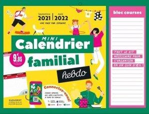 Mini calendrier familial hebdo - Marabout - 9782501159142 -