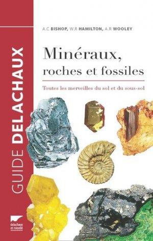 Minéraux, roches et fossiles - delachaux et niestle - 9782603024638 -