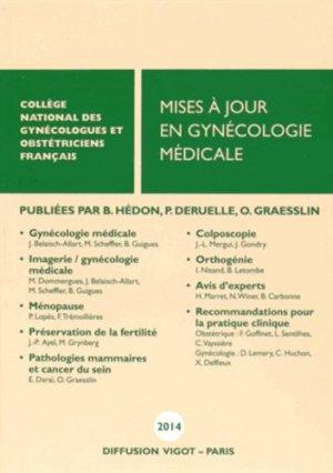 Mises à jour en gynécologie médicale - Vigot - 9782711404261 -