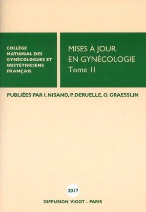 Mises à jour en gynécologie - Vigot - 9782711404322 -