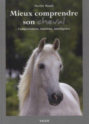 Mieux comprendre son cheval - vigot - 9782711422272 -