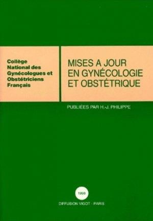 Mises à jour en gynécologie et obstétrique 1998 - vigot - 9782711481835 -