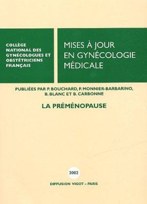 Mises à jour en gynécologie médicale 2002 - vigot - 9782711481910 -