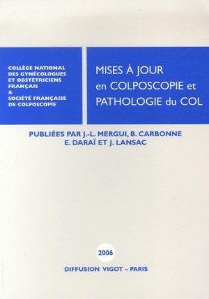 Mises à jour en Colposcopie et Pathologie du col - Vigot - 9782711482054 -