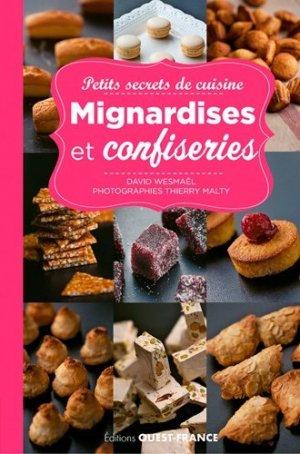 Mignardises et confiseries - Ouest-France - 9782737371776 -