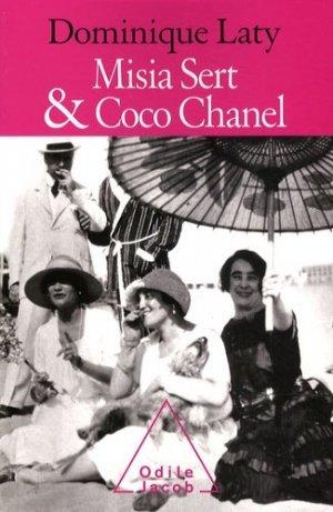 Misia Sert et Coco Chanel - odile jacob - 9782738122919 -