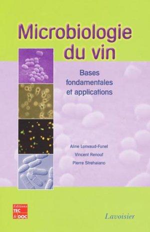 Microbiologie du vin - lavoisier / tec et doc - 9782743012526
