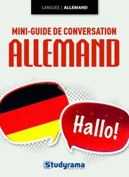 Mini-guide de conversation allemand - Studyrama - 9782759027361 -