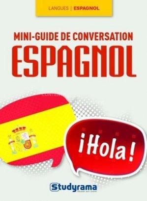 Mini-guide de conversation espagnol - Studyrama - 9782759027378 -