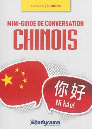 Mini-guide de conversation en chinois - Studyrama - 9782759027965 -