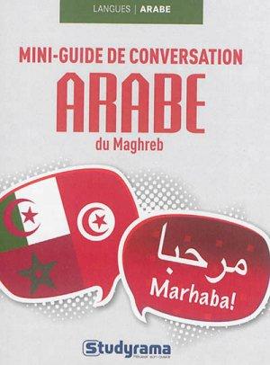 Mini-guide de conversation en arabe du Maghreb - Studyrama - 9782759027972 -