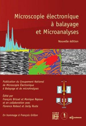 Microscopie électronique à balayage et Microanalyses - edp sciences - 9782759823222 -