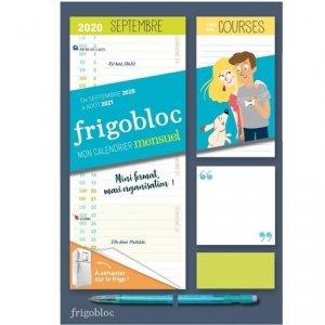 Mini Frigobloc mensuel. Calendrier d'organisation familiale / 12 mois, Edition 2020-2021 - Play Bac - 9782809670585 -