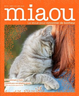 Miaou N° 3 : La ronronthérapie - prisma - 9782810424818 -