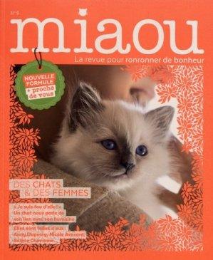 Miaou N° 9 : Des chats & des femmes - prisma - 9782810429165 -