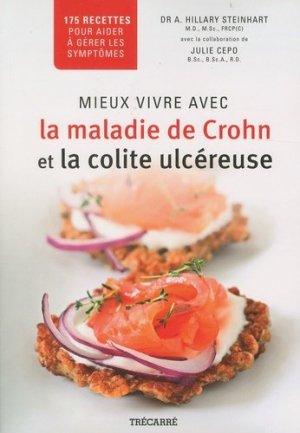 Mieux vivre avec la maladie de Crohn et la colite ulcéreuse - trecarre - 9782895686378 -