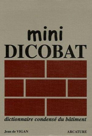 Mini Dicobat - arcature - 9782950480590 -