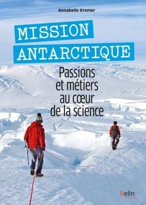 Mission Antarctique - belin - 9791035804527 -