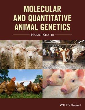 Molecular and quantitative animal genetics - wiley blackwell - 9781118677407 -