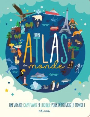 Mon atlas du monde - shoebox media editions - 9781988142760 -