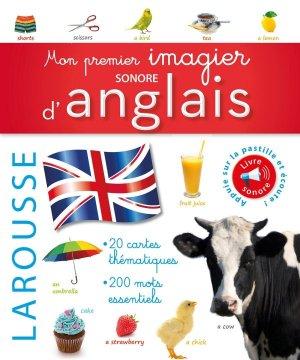 MON PREMIER IMAGIER SONORE ANGLAIS  - LAROUSSE - 9782035889294 -