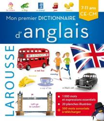 Mon premier dictionnaire d'anglais - Larousse - 9782035935069 -