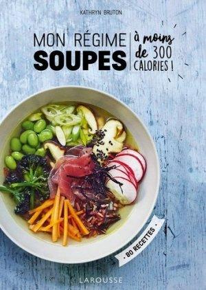 Mon régime soupes - larousse - 9782035948168 -