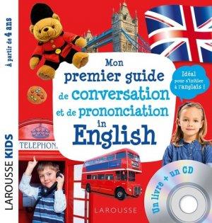 Mon premier guide de conversation et de prononciation in English - Larousse - 9782035979162 -