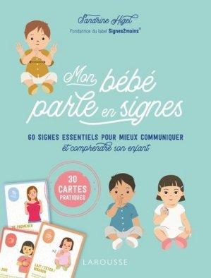 Mon bébé parle en signes - Larousse - 9782035999733 -