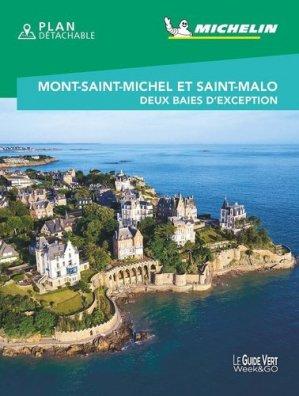 Mont Saint-Michel et Saint-Malo - Michelin - 9782067248786 -