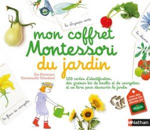 Mon coffret Montessori du jardin - nathan - 9782092787823 -