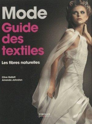 Mode : guide des textiles - eyrolles - 9782212127065 -
