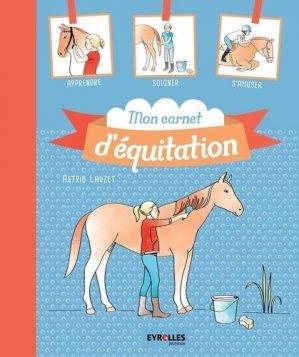 Mon carnet d'équitation - eyrolles - 9782212562149 -