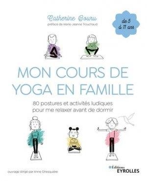 Mon cours de yoga en famille - eyrolles - 9782212573695 -